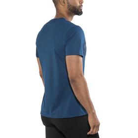 Odlo Imperium Print Løbe T-shirt Herrer blå